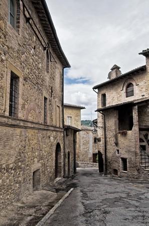 View of Bevagna. Umbria. photo