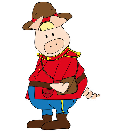 canadian military: Canadian Ranger Pig.