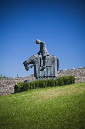 St. Francesco Knight. Assisi. Umbria. Stock Photo - 7884887