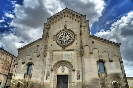 Matera Cathedral. Basilicata. photo