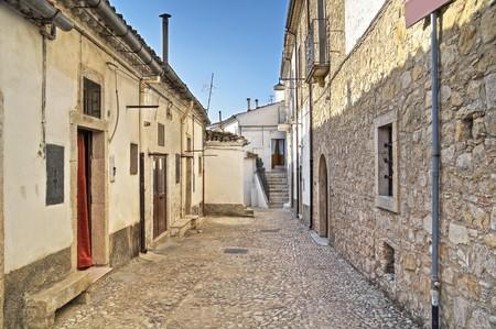 Alleyway. Bovino. Foggia. Apulia. Imagens - 7973652
