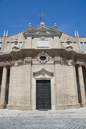 Sanctuary of Madonna della Misericordia. Macerata. Marche. photo
