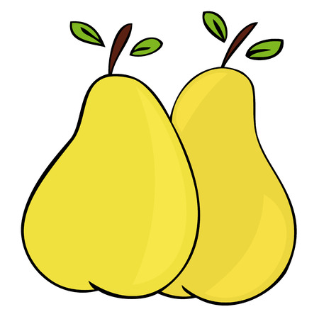 Pears. Stock Vector - 7973684