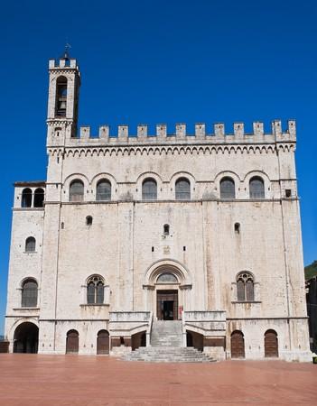Consul Palace. Gubbio. Umbria. photo