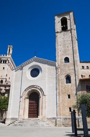 St. Giovanni Church. Gubbio. Umbria. photo