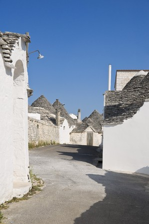trulli: Trulli. Alberobello. Apulia. Stock Photo