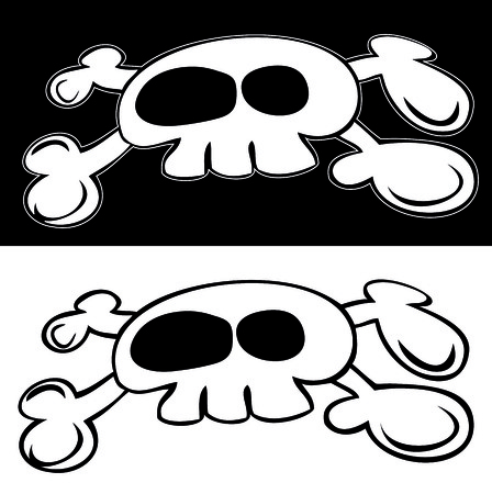 Jolly Roger. Vector
