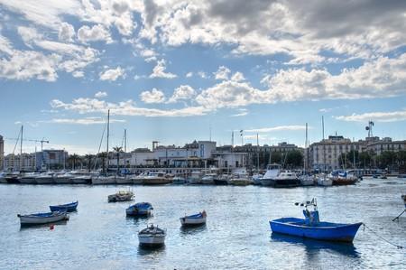 Panoramic view of Bari. Apulia. photo