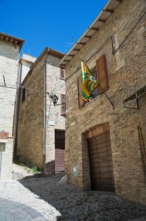 Alleyway. Montefalco. Umbria. photo