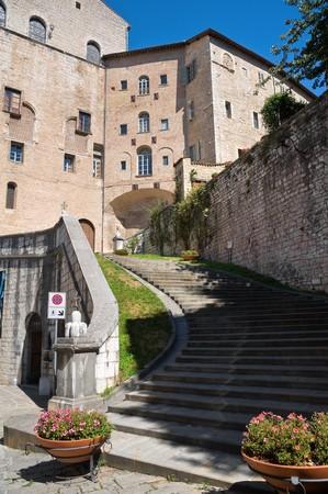View of Gubbio. Umbria. Stock Photo - 8090278