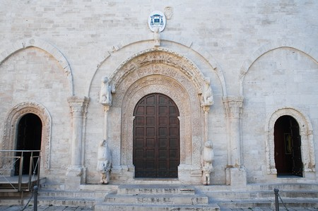 wood panelled: Cathedral. Ruvo di Puglia. Apulia.