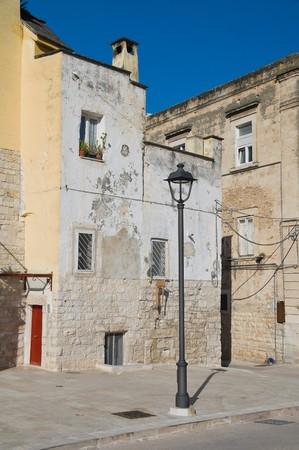 chimney corner: Callej�n. Bisceglie. Apulia.