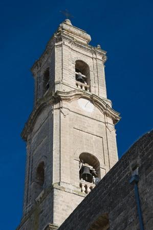 immaculate: Iglesia de campanario de Inmaculada Concepci�n. Adelfia. Apulia.