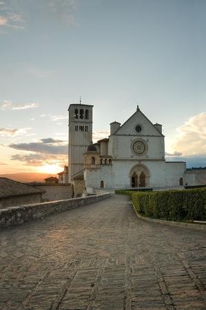 St. Francesco Basilica. Assisi. Umbria. photo