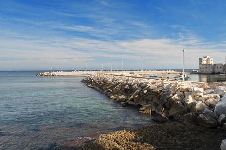 Panoramic view of Giovinazzo. Apulia. photo