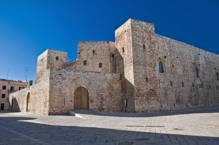 swabian: Norman- Swabian Castle. Sannicandro di Bari. Apulia.