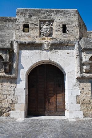 Norman- Swabian Castle. Bari. Apulia. photo