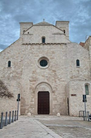 St. Corrado Cathedral. Molfetta. Apulia. photo