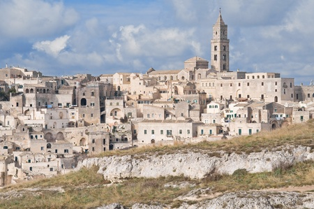 rupestrian: The Sassi of Matera. Basilicata.