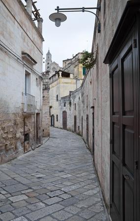 basilicata: Alleyway. Matera. Basilicata.