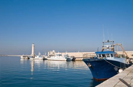 rustiness: View of Molfetta. Apulia.