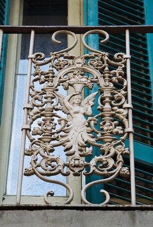 Historic balcony. photo