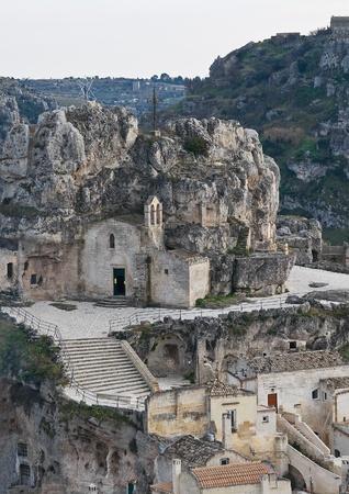 matera: The Sassi of Matera. Basilicata.
