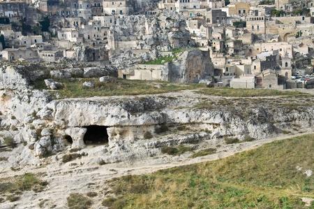 palaeolithic: Palaeolithic cave. Matera. Basilicata.