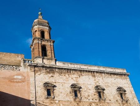 conversano: St. Rita Sanctuary. Conversano. Apulia.