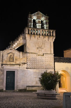 basilicata: Materdomini Church. Matera. Basilicata.