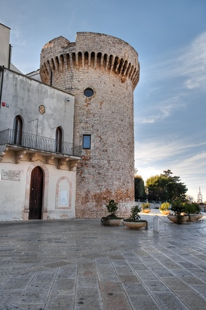 conversano: Norman Castle. Conversano. Apulia.