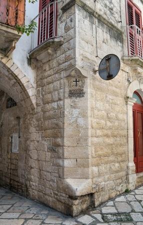 Alleyway. Giovinazzo. Apulia. photo