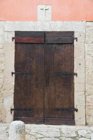 Wooden Portal Church. photo