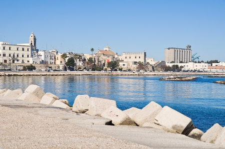 Panoramic view of Bari. Apulia. Imagens - 8789838