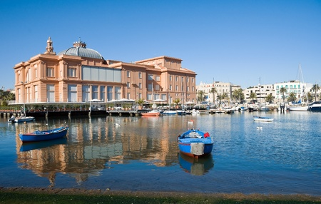 Margherita Theatre. Bari. Apulia. Stock Photo