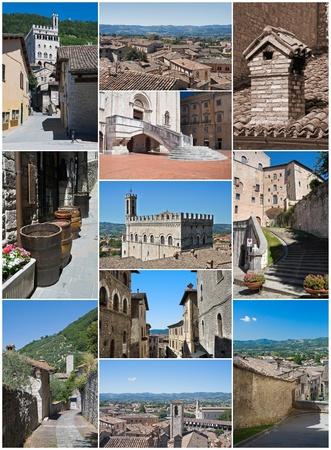 Gubbio collage. photo