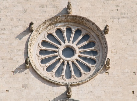 rose window: Rose window. Stock Photo