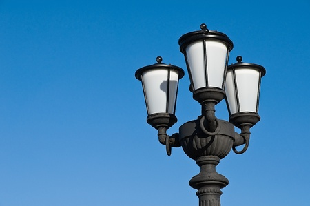 Street lamp. photo