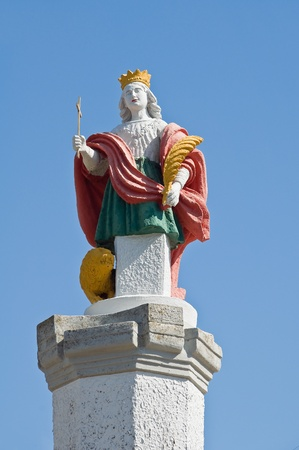 martyr: St. Vito martyr statue.