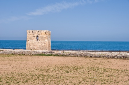 sighting: Sighting tower. Polignano a Mare. Apulia.