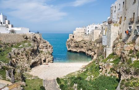 Lama Monachile. Polignano a Mare. Apulia. photo