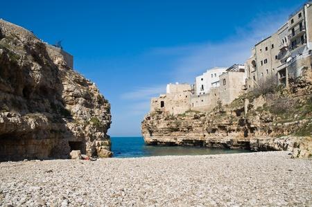 Lama Monachile. Polignano a Mare. Apulia. Stock Photo - 9129230
