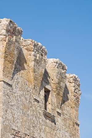 sighting: Sighting tower. Polignano a Mare. Apulia.