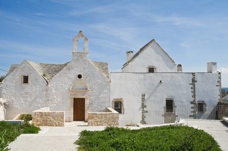 St. Anna di Renna church. Locorotondo. Apulia. photo