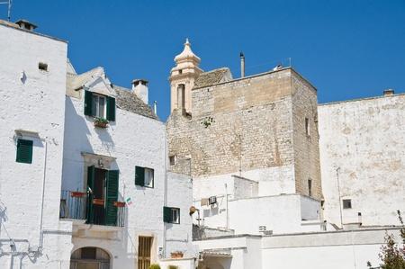 chimney corner: Vista de Locorotondo. Apulia.