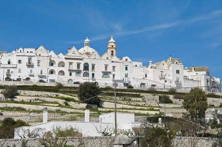 Panoramic view of Locorotondo. Apulia. photo