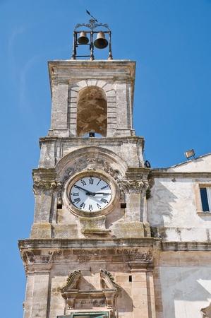Clocktower. Martina Franca. Apulia. photo