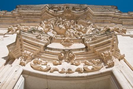 martino: St. Martino Basilica. Martina Franca. Apulia.