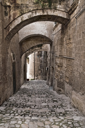 basilicata: View of Matera. Basilicata. Stock Photo