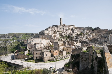 Panoramic view of Matera. Basilicata. Stock Photo - 9369034